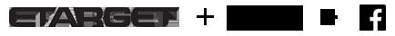 Etarget + Google + Facebook Logo